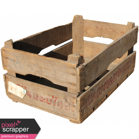The Veggie Patch Wooden Crate Graphic By Melo Vrijhof Pixel