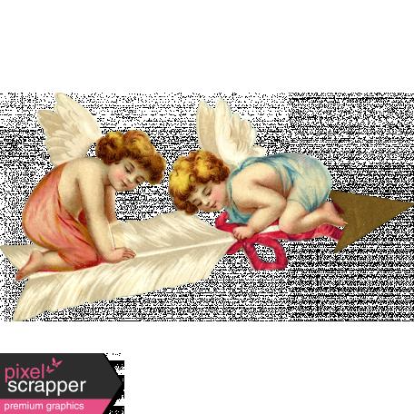 Sweet Dreams - Vintage - Clipart - Arrow