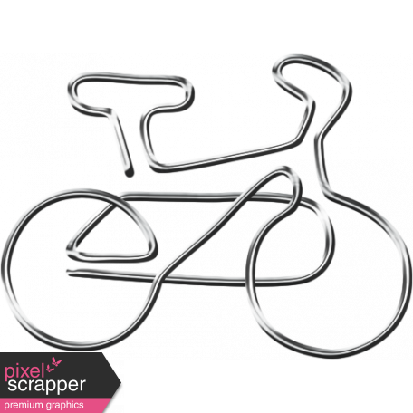Ride A Bike - Bicycle - Paper Clip