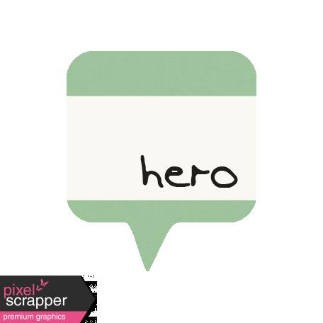 I Love You Man - Hero - Label