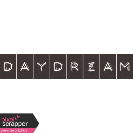 Sand And Beach - Daydream Word Strip Label