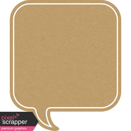 Sand And Beach - Square Speech Bubble