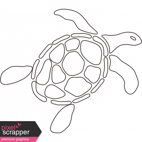 Sand Beach Turtle Nautical Stamp Graphic By Elif Sahin Pixel Scrapper Digital Scrapbooking In the example given above, you can see a visible difference in the appearance of the turtle. sand beach turtle nautical stamp