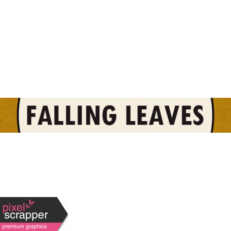 Cast A Spell Elements - Falling Leaves graphic by Elif Şahin