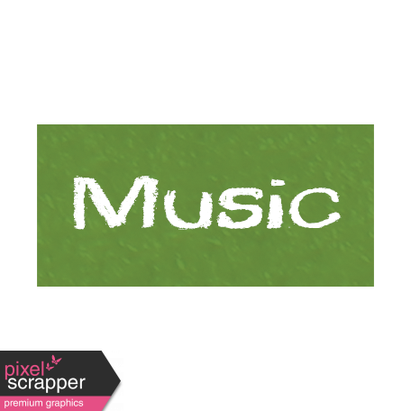 Music Word Art Graphic By Janet Scott Pixel Scrapper Digital