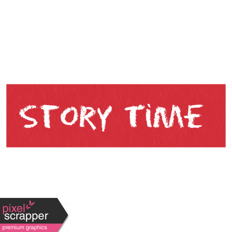 Story Time Word Art