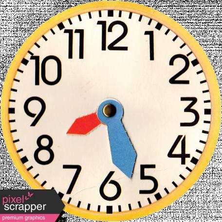 It's Elementary, My Dear - Paper Clock
