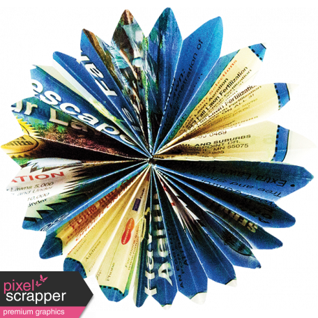A Bouquet of Freshly Sharpened Pencils - Paper Flower 08