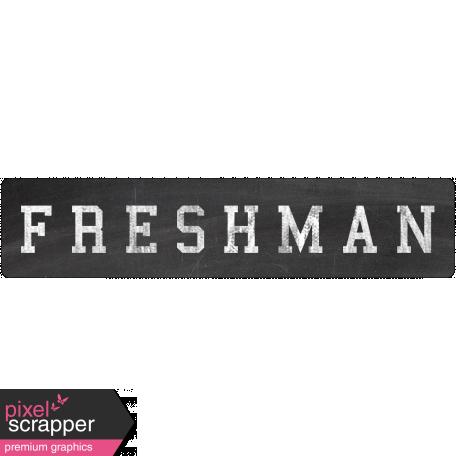 Freshman Word Art