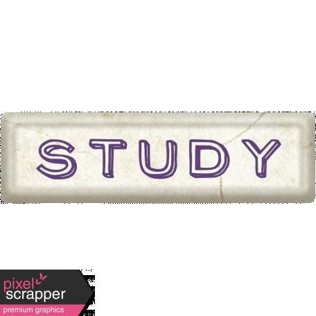 Study Word Art
