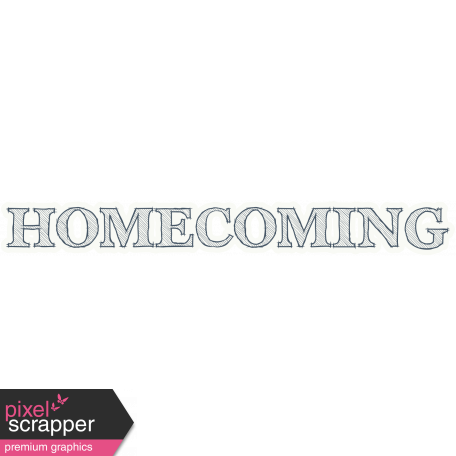 Homecoming Word Art