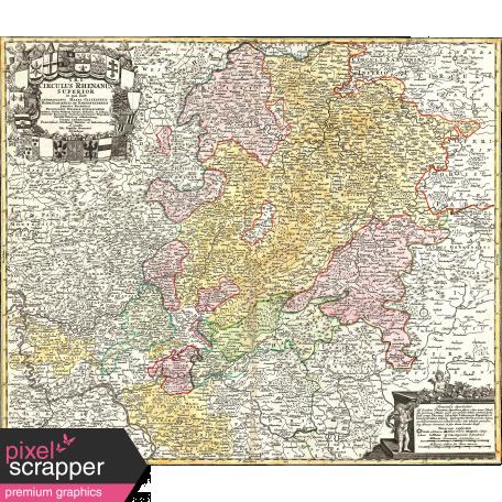 A Bouquet of Freshly Sharpened Pencils - Map Ephemera