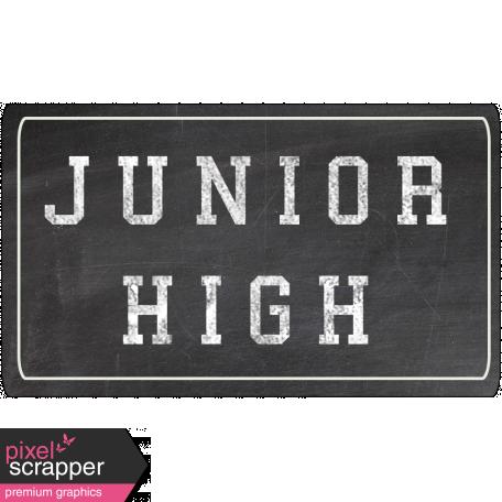 Junior High Word Art