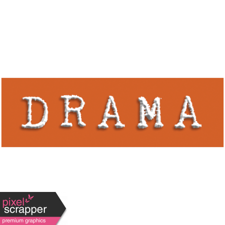 Drama Word Snippet
