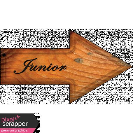 Junior Word Art Arrow