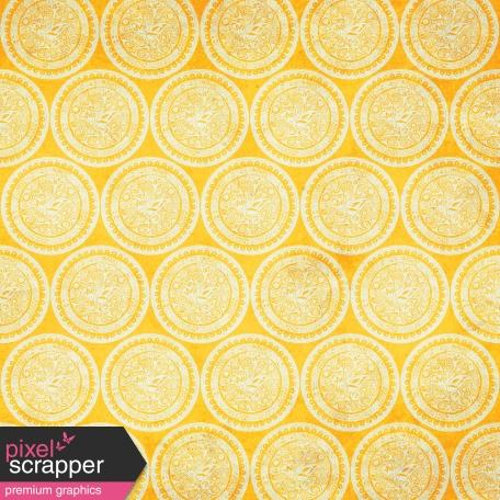 Yellow Circles Paper