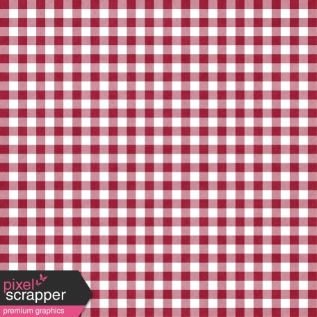 Thankful - Red Gingham Paper