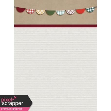 Grandma's Kitchen Banner Journal Card