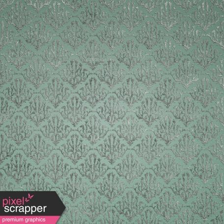 Be Mine - Mint Damask Fabric