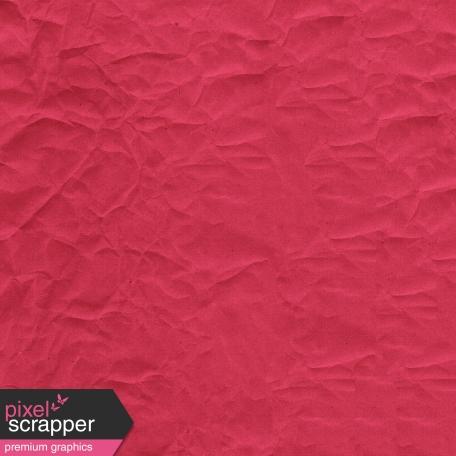 Be Mine - Dark Pink Crumpled Paper