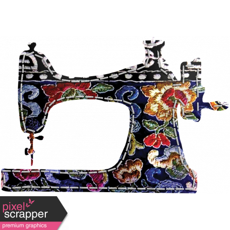Quilted With Love - Quilted Tapistry Sewing Machine