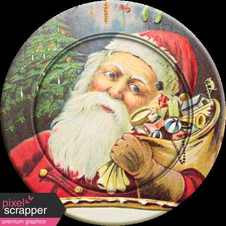 Christmas Memories Santa Plate