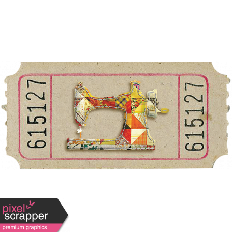 Sewing Machine Ticket 02
