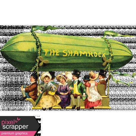 The Lucky One - Blimp Ephemera