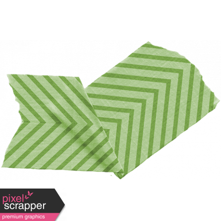 The Lucky One - Folded Chevron Tape