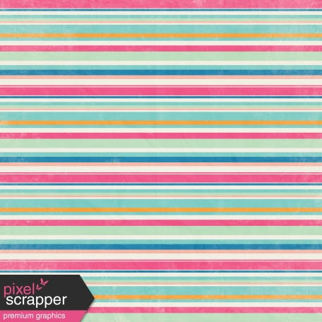 Hello Multi Colored Stripe Paper