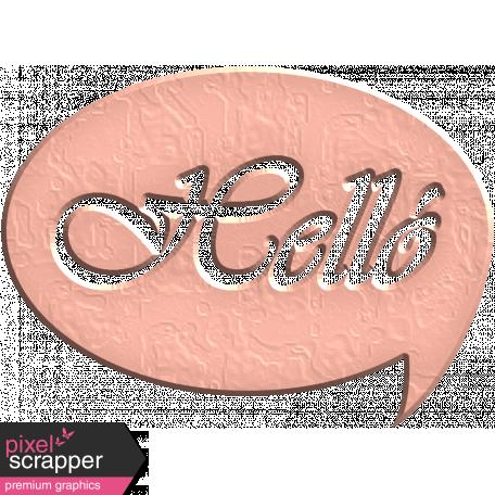 Hello Speech Bubble - Helló 2