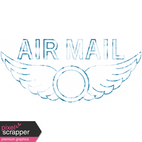 Hello - Air Mail Stamp