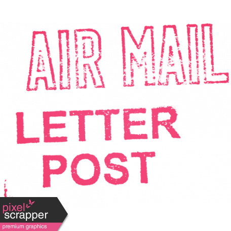 Hello - Air Mail Stamp 2