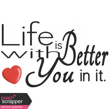 Oh Baby, Baby - Life is Better Word Art