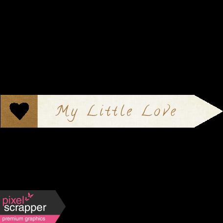 "Oh Baby ""Little Love"" Word Art"