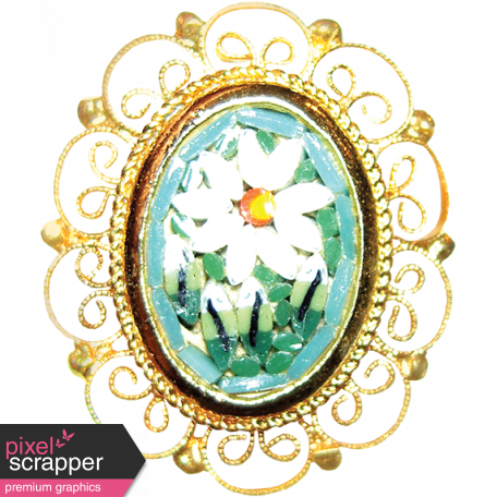 Many Thanks - Daisy Brooch