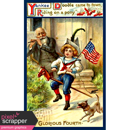 Independence - Yankee Doodle Postcard