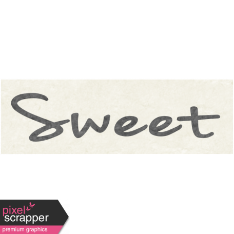 Sunshine & Lemons Mini - Sweet Word Art