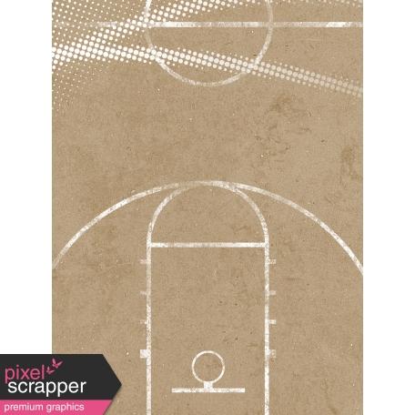 Basketball Card 3x4 Court