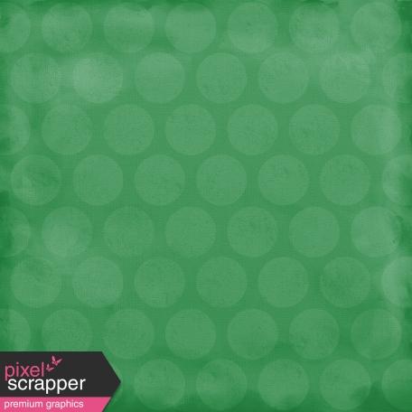 Color Basics Paper Circles Big Dark Green