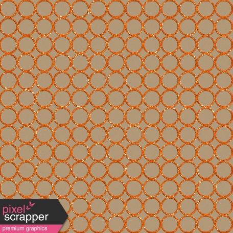 Sports Paper Pd 49 Cutout Orange Glitter