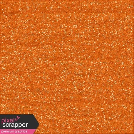 Color Basics Paper Glitter Orange