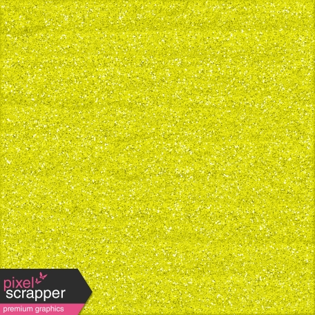 Color Basics Paper Glitter Yellow