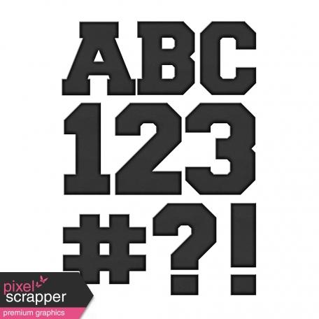 Color Basics Cardboard Alpha Black