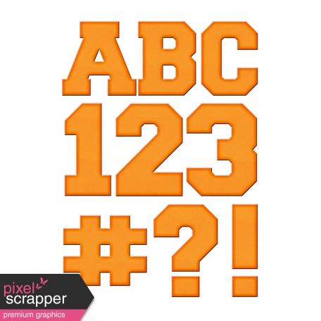 Color Basics Cardboard Alpha Orange