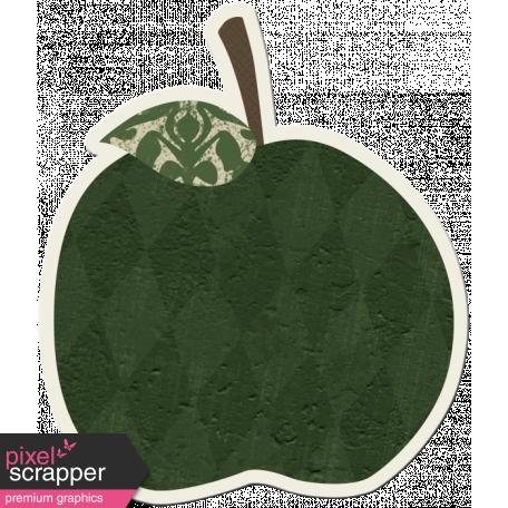 Crisp Fall Air Sticker Apple Green