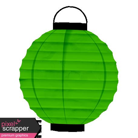 Spook Lantern Green