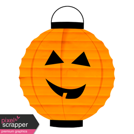 Spook Lantern Orange Pumpkin
