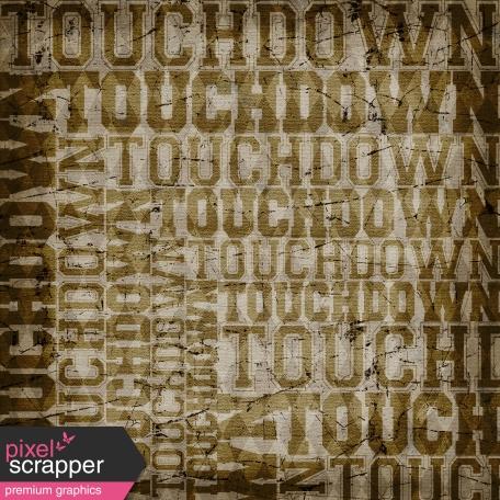 Football Paper Touchdown
