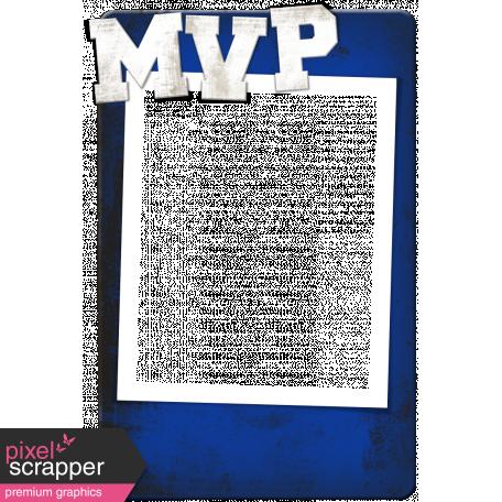Sports MVP Card - Blue